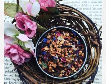 Berry Creamy Blueberry - Fruit Tea - Luxury Loose Leaf Tea - Caffeine free- blueberry- iced tea- antioxidants- gypsy soul