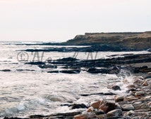 Digital download photography Digital printable art Printable photography Travel Photographs Rocky Sea Side Orkney Scotland