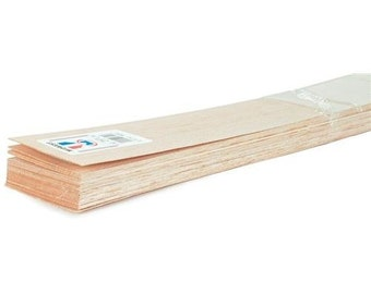"""Balsa wood sheet 36-1/8 """"X 1"""""""