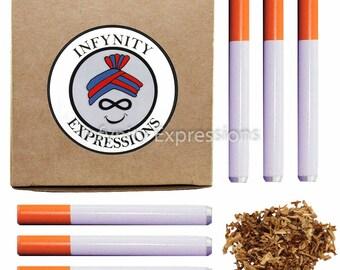 "Pack of 6 - Reusable Cigarette Holder / Bat - One Hitter Smoke Accessory - 3"""