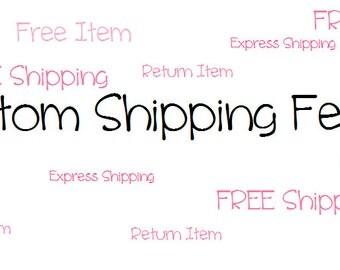 Custom Shipping Fee