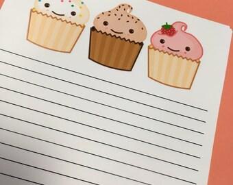 Cute Cupcake Paper