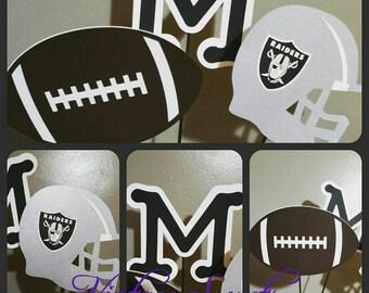 Football Team Center Piece Sticks