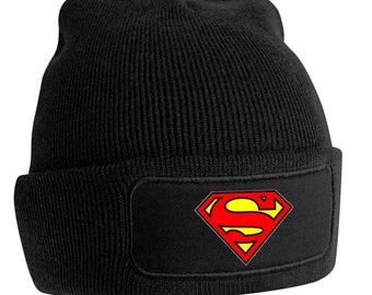 Beanie Superman Printed
