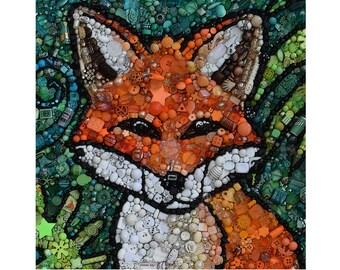 Fabulous Mr Fox - Greetings Card