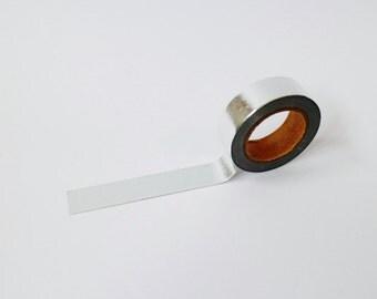 Silver Foil Washi Tape/Masking Tape