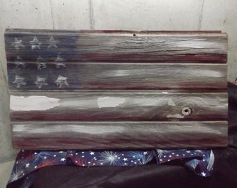 Reclaimed Barn-wood Flag