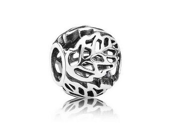 Authentic Pandora AUTUMN BLISS LEAVES Open Work Charm Bead