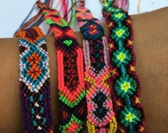 Woven Bracelets from Chiapas Mexico