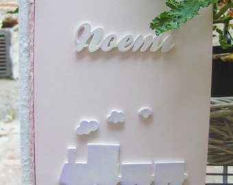 personalized wooden photo album, you can have in two sizes 22x25 and 30x23