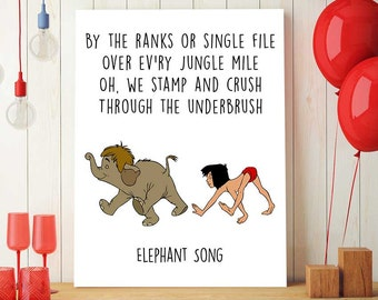 Jungle Book Quotes Simple Jungle Book Printable Shere Khan And Mowgli Disney Quotes