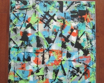 Original Abstract Art, Colours