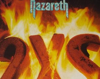 Nazareth vinyl record album, Nazareth 2XS vintage vinyl record
