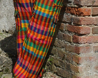 Peruvian pants natural cotton