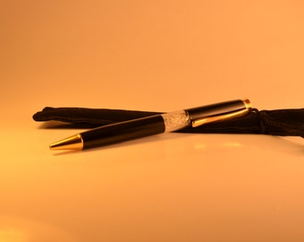 Luxury Gold 24-karat plated with Bohemian Crystals Pen