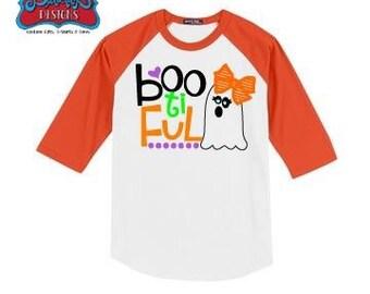 Boo-ti-ful Raglan Sleeve T-Shirt