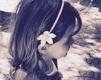 Baby Headband,Band Notebook,Kanzashi,Flower headband,Headband,Fabric Flower, Baby & Mum Accessories, Newborn Headband