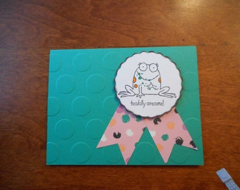 Handmade Card of Support