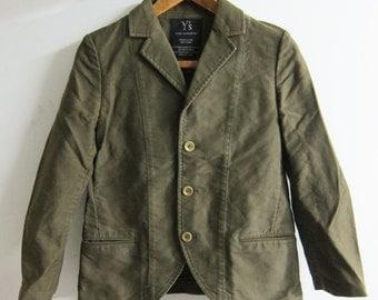 Y's Yohji Yamamoto Chore Jacket Olive Japan