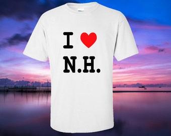 I Love N.H, tshirt - NH souvenir