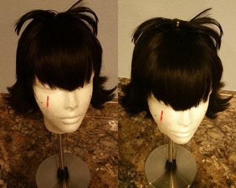 black short Hotel Transylvania Mavis Dracula wig