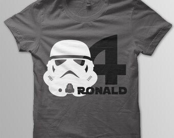 Star Wars Birthday Shirt Disney shirt kids Stormtrooper shirt kids Disney t-shirt