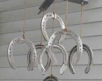 Horseshoes and Rasps Wind Chime