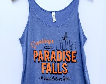 Paradise Falls Slouchy Tank