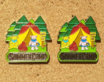 Set of 2 Summer Camp Pin