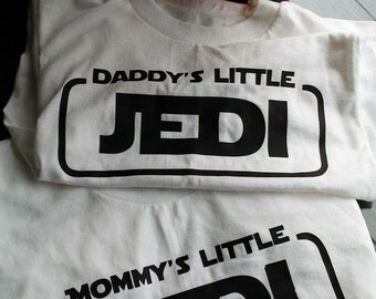 Mommy/Daddys Little Jedi Tee