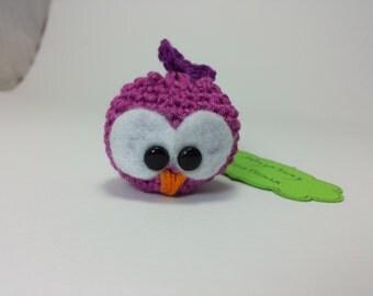Amigurumi Owl - little keychain