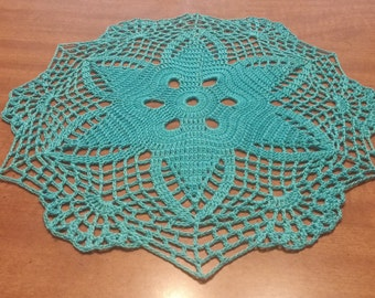 Crochet round doily