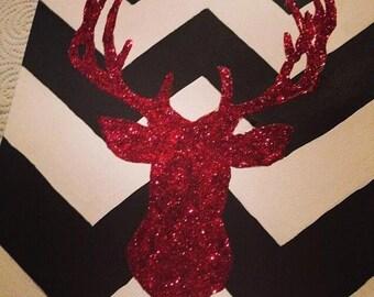 """9'x12"""" Deer Canvas"""
