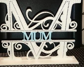 free standing mum plaque
