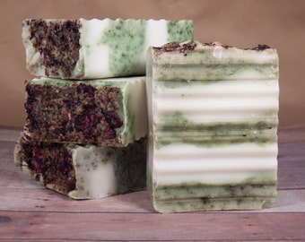 All Natural, Christmas Tree, Cold Process Soap