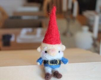 Handmade Wool Needlefelted Gnome