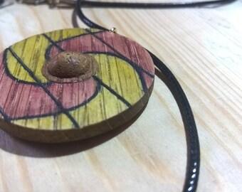 Viking Shield Pendant