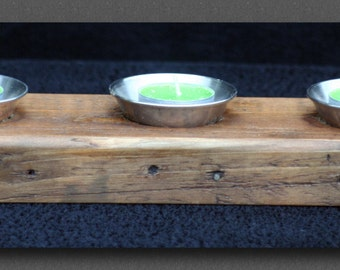 Triple Tealight Candle Holder