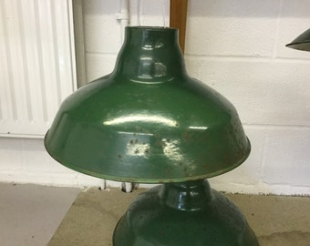 Wardle Vintage Pendant Light Shade - circa 1950s