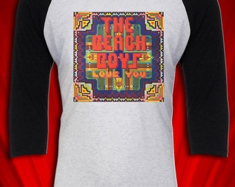 Beach Boys Vintage Tour Concert Tee T-shirt Love 1978