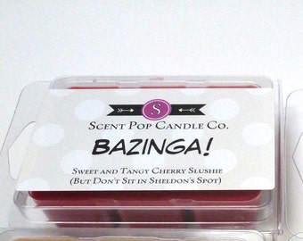 One Wax Melt, Your Choice of scent