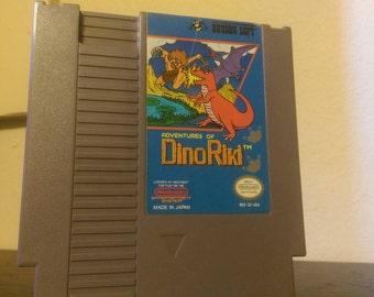 The Adventures of Dino Riki - (Nes) Game
