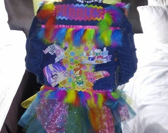Custom made Tutu & Vest ( your choice of character or colors) Made to Order