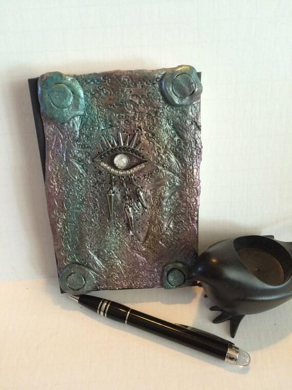 SALE Journal Steampunk journal goth home decor