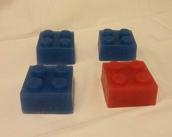 Lego style blocks