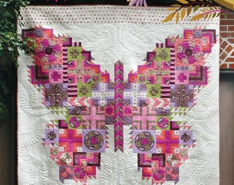 Butterfly Quilt Pattern from Tula Pink