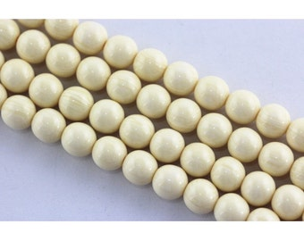 Beautiful Smooth Immitation Bone Round Gemstone Beads Loose Beads 6mm/8mm/10mm/12mm/14mm/16mm.R-S-BON-0433