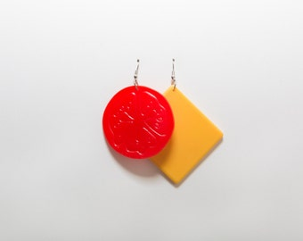 Slice It Up Earrings