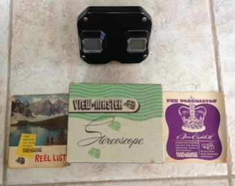 1950  View – Master Stereoscope with box /  pamphlets