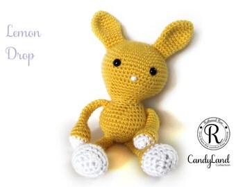 Lemon Drop Rachel - yellow rabbit